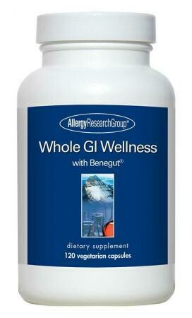 Whole GI Wellness,Allergy Research Group, 120 Вегетарианских капсул