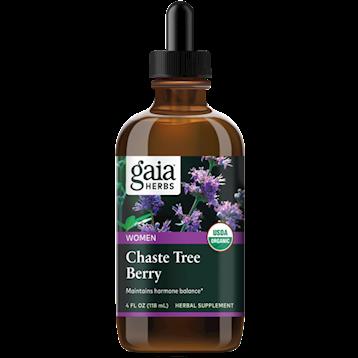 Chaste Tree Berry, Certified Organic ,Gaya Herbs ,120 ml
