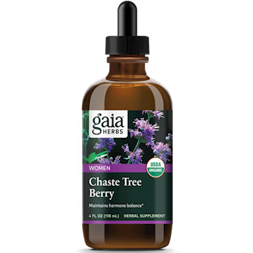 Chaste Tree Berry, Certified Organic ,Gaya Herbs ,120 ml