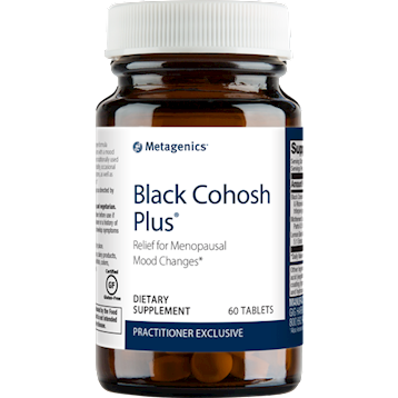Black Cohosh Plus 60 vegetarian tablets Metagenics