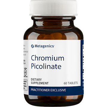 Chromium Picolinate 200mcg 60 tablets Metagenics