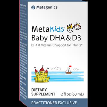 MetaKids Baby DHA & D3 2 fl oz