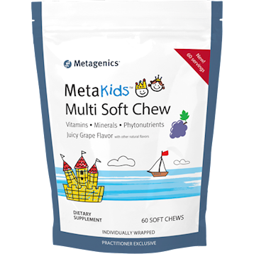 MetaKids Multi Soft Chew Grape,Metagenics, 60 chews