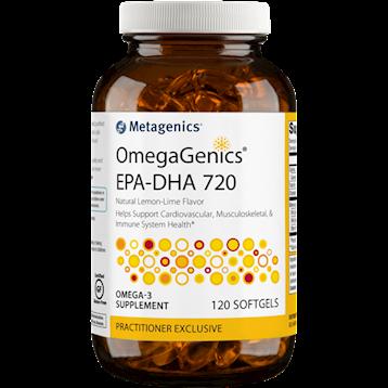 OmegaGenics™ EPA-DHA 720 Lemon 120 gels