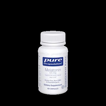 Melatonin ,Pure Encapsulation 0.5 mg 60 vcaps