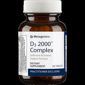 D3 2000™ Complex,Metagenics, 90 tabs