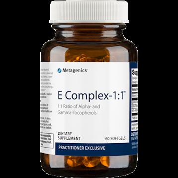 E Complex-1:1  60 softgels Metagenics