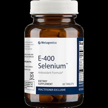 E-400 Selenium 60 tablets Metagenics
