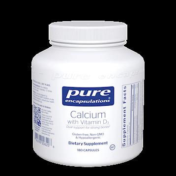 Calcium with Vitamin D3 180 vegcaps