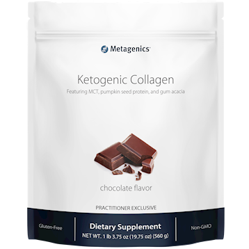 Ketogenic Collagen Chocolate 14 servings Metagenics