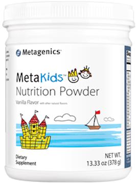 MetaKids Nutrition Pwder Van. 14 Serv CA