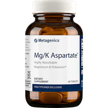 Mg/K Aspartate 60 tablets Metagenics