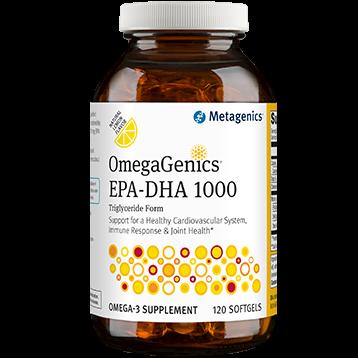 OmegaGenics EPA-DHA 1000  120 softgels Metagenics