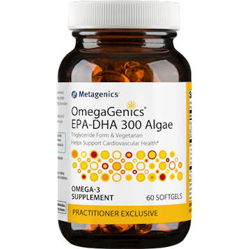 OmegaGenics EPA-DHA 300 Alg 60 softgels