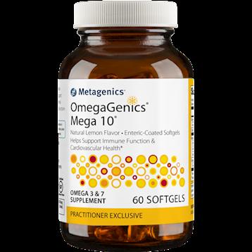 OmegaGenics Mega 10 60 gels Metagenics