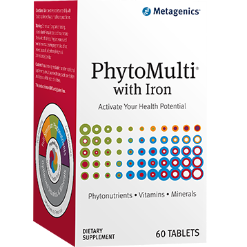 PhytoMulti with Iron  60 tablets Metagenics