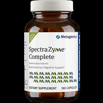 SpectraZyme Complete 180 Capsules Metagenics
