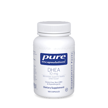 DHEA (micronized),Pure Encapsulations,10 mg 60 vcaps