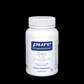DHEA (micronized),Pure Encapsulations,5 mg 60 vcaps