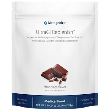 UltraGI Replenish,Metagenics, Choc 14 servings CA