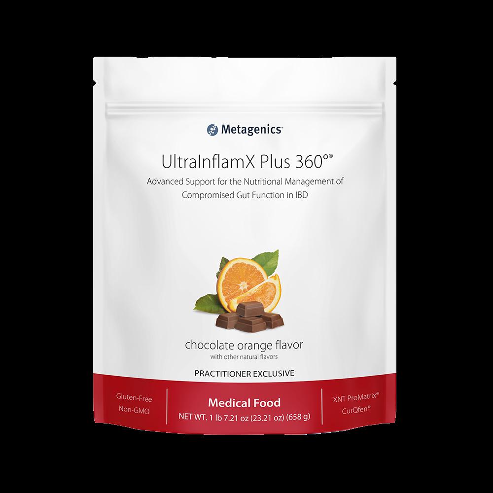 UltraInflamX Plus 360 Choc/Oran 14 serv