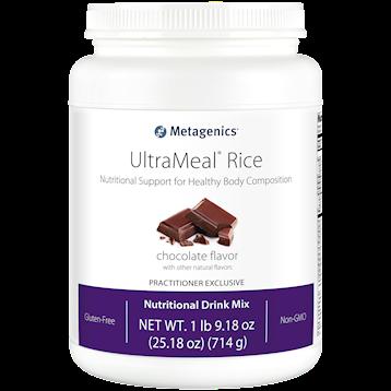 UltraMeal RICE Chocolate,Metagenics , 714 g Power