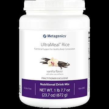 UltraMeal® Rice Vanilla ,Metagenics,14 servings CA