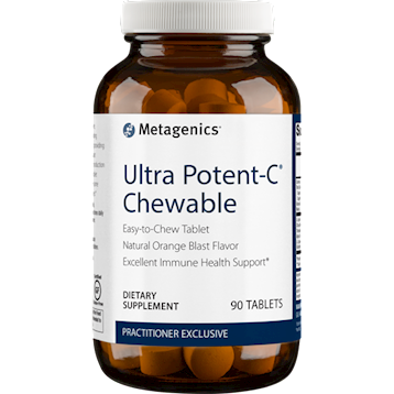 Ultra Potent-C Orange Chewable 90 tablets Metagenics