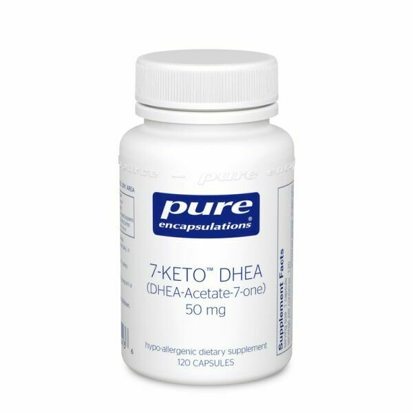 7-Keto DHEA ,Pure Encapsulations,50 mg 60 vcaps