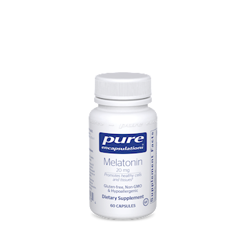 Melatonin 20 mg 60 vcaps ,Pure Encapsulation