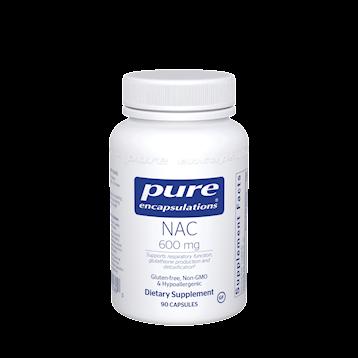 NAC 600 mg 90 vcaps