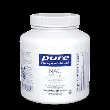 NAC 600 mg 360 caps