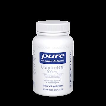 Ubiquinol-QH 100 mg 60 softgels, Pure Encapsulations