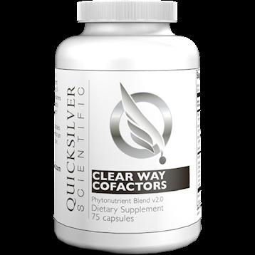 ClearWay Cofactors Quicksilver Scientific  75 caps
