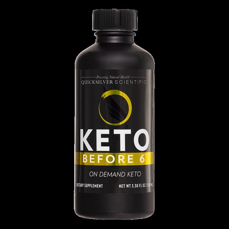 Keto Before 6 100 ml Quicksilver Scientific