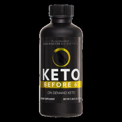 Keto Before 6® 100ml Quicksilver Scientific