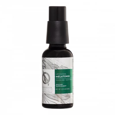 Liposomal Melatonin 1 mg 30 ml  Quicksilver Scientific