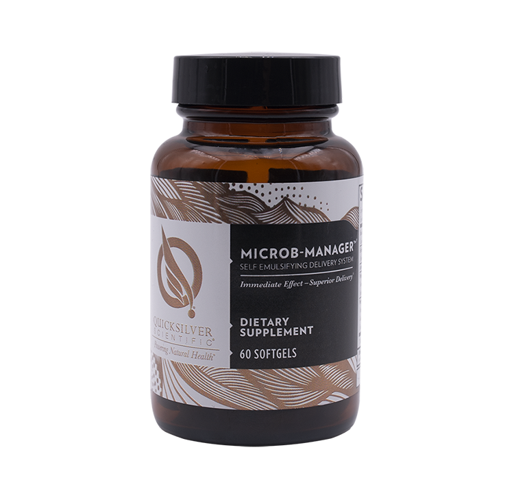 Microb-Manager 60 softgels Quicksilver Scientific