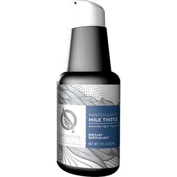 Milk Thistle Nanoemulsified 50 ml Quicksilver Scientific
