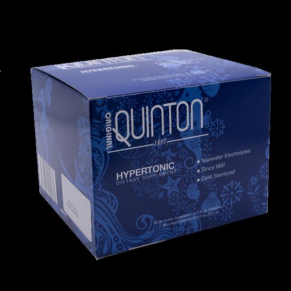 Original Quinton Hypertonic Quicksilver Scientific  30 Amps