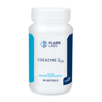 COENZYME Q10  100 mg  30 SOFTGELS  Klaire Labs