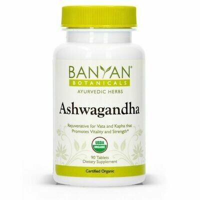 Ashwagandha 90 tablets Banyan Botanicals