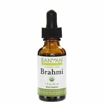 Brahmi/Gotu Kola liquid extract 30 ml Banyan Botanicals