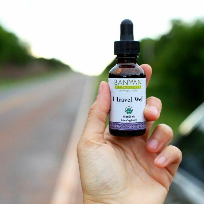 I Travel Well Liquid 30 ml Banyan Botanicals