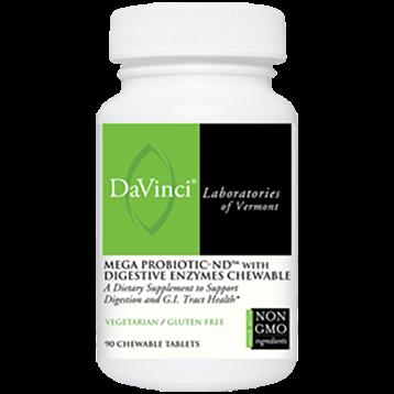 Mega Probiotic- ND 90 chew tablets DaVinci Laboratories