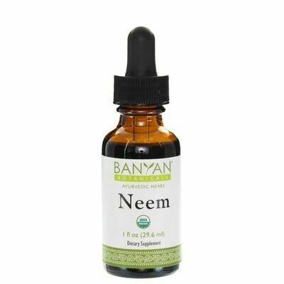 Neem Liquid Extract  30 ml Banyan Botanicals