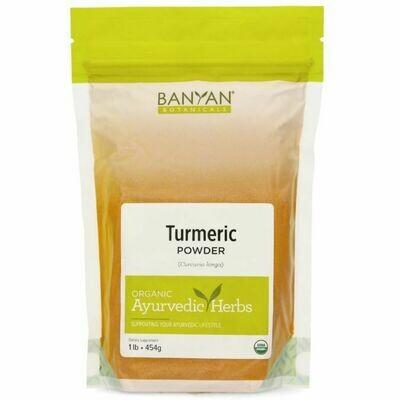 Turmeric Root Powder 445 g Banyan Botanicals