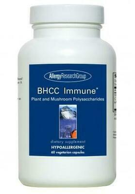 BHCC Immune 60 Vegetarian Capsules Allergy Research Group
