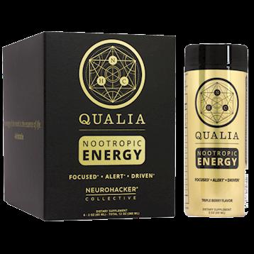 Qualia Nootropic Energy Shot 6-pack NEUROHACKER COLLECTIVE