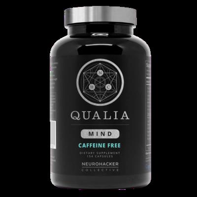 Qualia Mind Caffeine Free  154 vegcapsules NEUROHACKER COLLECTIVE